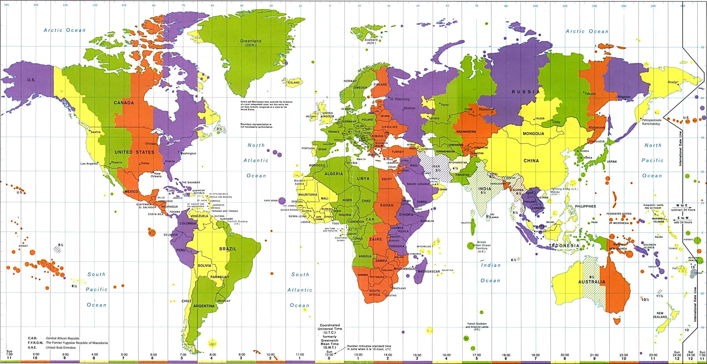 karta sveta vremenske zone Dragi učenici, ovdje možete pronaći materijale za vježbanje i  karta sveta vremenske zone